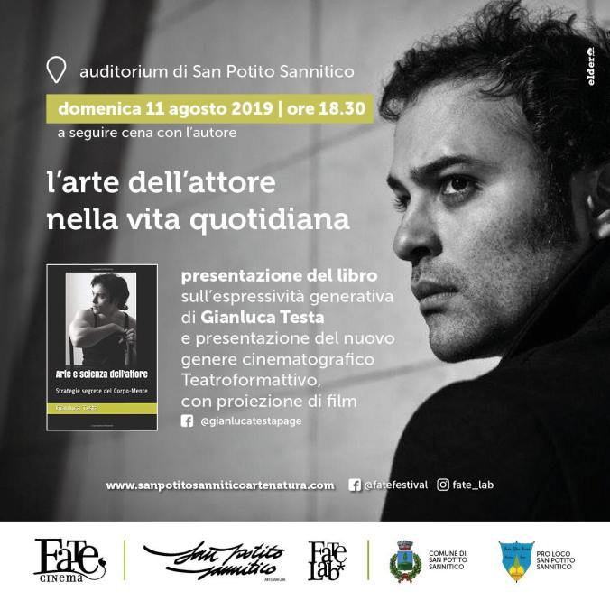 Gianluca Testa arte e scienza dell'attore
