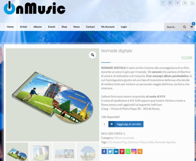 Nomade digitale - Gianluca Testa su Onmusic
